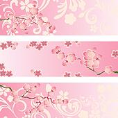 Cherry Blossom Clip Art - Royalty Free - GoGraph