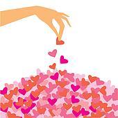 petals-hearts