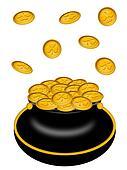 Saint Patricks Day Pot of Gold