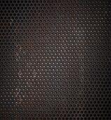 grunge metal grid background