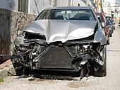 damaged car after an accident