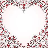 heart shaped frame heart shaped frame