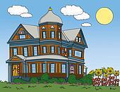 Summer Victorian House