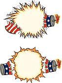Americana Firecracker Starbursts
