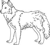 Sled Dog Clip Art - Royalty Free - GoGraph