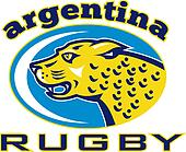 Rugby Argentina Jaguar Mascot head
