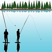 Two River Fisherman