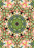 handdrawn floral background