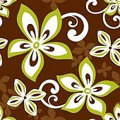 Seamless ALOHA Hawaii Pattern