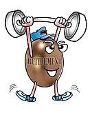 Retirement Weighlifter