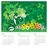 Spring Season - Concept Calendar