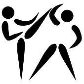 Taekwondo sign