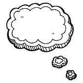 cartoon thought bubble