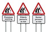 Pensions and retirement warning