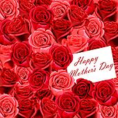 Mother's Day card on roses