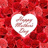 Mother's Day heart with roses