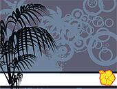 tropical flower background5