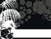 tropical flower background7
