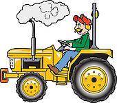 Rops tractor