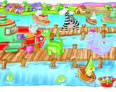 harbor, sea, boat, dock,
