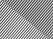 Black white line