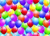 Balloon Seamless Wallpaper