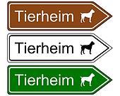 Sign animal shelter