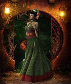 Oriental Woman Kaiko