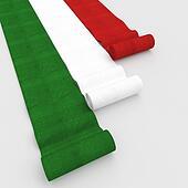 italian flag carpet
