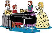 Victorian Women Quartet & Piano