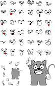rat baby cartoon set6