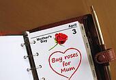 Mother\'s Day calendar