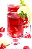 Refreshing summer ice tea