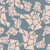 seamless rose glacier pattern