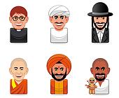 Avatar people icons (religion)