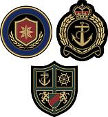 royal sailor emblem design