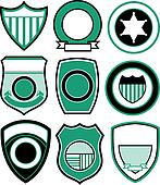 emblem badge shield design