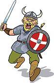 Viking charging