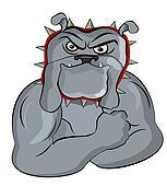Mascot Buldog