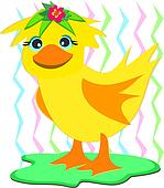 Duck with a Wig