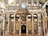 Jerusalem Holy Sepulcher Catholicon Hall 2012