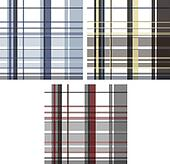 fashion fabric plaid check textile