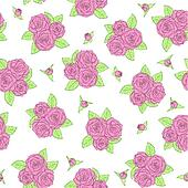 bouquets of roses Seamless pattern