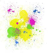 Bright Paint Spatter