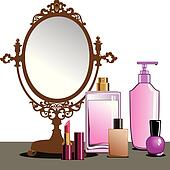 MakeUp and Mirror
