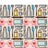 seamless baking pattern