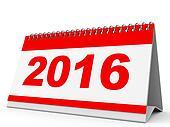 Calendar 2016.