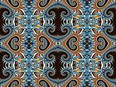 Fabulous background with Spiral Pattern