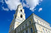 Bell tower of Holy Trinity Seraphim-Diveevo monastery, Russia