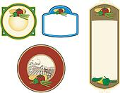 Vegetable Plaques